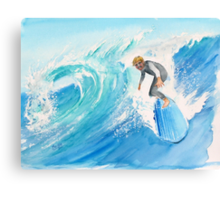 Catch a wave... Noah Canvas Print