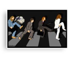 silly beatlewalk Canvas Print