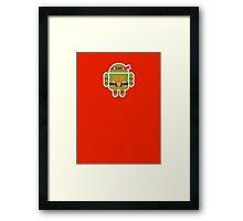 Raf Droid  Framed Print