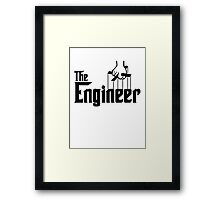 The Engineer T-Shirt Framed Print