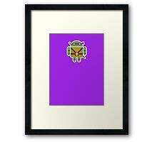 Donnie Droid  Framed Print