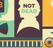 The Empty Hearse Sticker