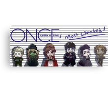 Once Upon A Time's Most Wanted Metal Print
