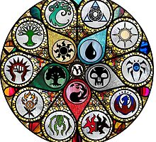 Magic the Gathering - Stained Glass by MissDoobie