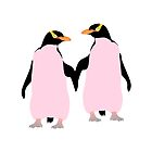 Pink Penguins by piedaydesigns
