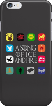 Westeros Noble Houses - A Song of Ice and Fire by anemophile