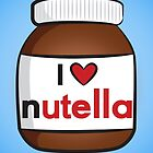 I <3 Nutella by Lauramazing