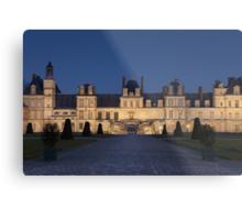 Fontainebleau castle Metal Print