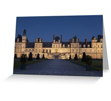 Fontainebleau castle	 Greeting Card