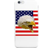 The Flag and the Eagle iPhone Case/Skin