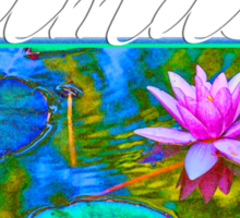 Yoga Lotust Namaste Sticker