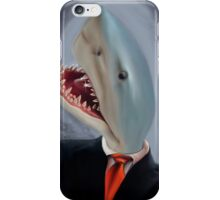 Mr. Shark Head iPhone Case/Skin