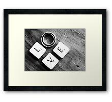 ~~*LOVE *~~  sold  4  YAY  Framed Print