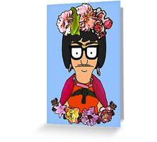 Frida Tina Greeting Card