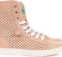 50% off on Rio Lindo Perforated Leather High Top Trainers by irishfashion