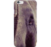 Close-up shot of Asian elephant head iPhone Case/Skin