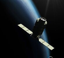 Cygnus Spacecraft by Ray Cassel
