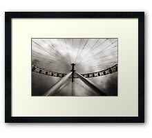 The Eye and the Sky Framed Print