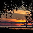 Steveston Sunset 1 by Melodie Douglas
