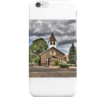 Little Church in  Flagstaff iPhone Case/Skin