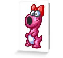 Birdo Greeting Card