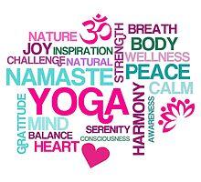 Joy of Yoga by AntiqueImages