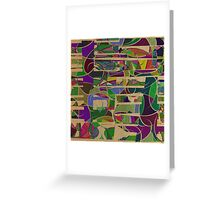 1023 Abstract Thought Greeting Card