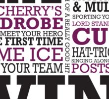 Beautiful Hockey 02 Sticker