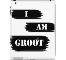 I AM GROOT! iPad Case/Skin