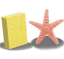 Sponge and Star by ZaneBerry