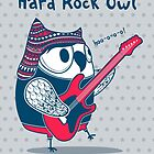 hard rock owl by moryachok