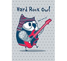 hard rock owl Photographic Print