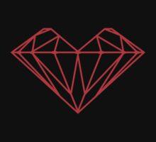 Heart of Diamond by ArtOnMySleeve