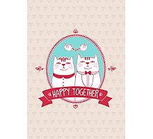 happy together Photographic Print