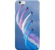 Red Arrows Turn iPhone Case/Skin