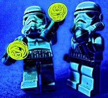 Raving stormtroopers by Tim Constable by Tim Constable