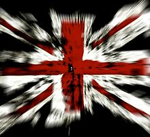 UK Flag England by Sven  Herkenrath