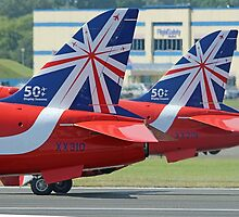 The Reds - Ready To Roll ! - Farnborough 2014 by Colin J Williams Photography