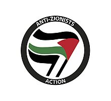 Anti-Zionists Action Photographic Print