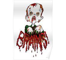 BRAINS!!! Poster