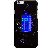 Pixel TARDIS iPhone Case/Skin