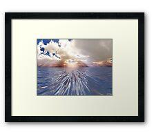 Mystery Sea Framed Print