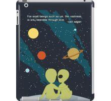 Carl Sagan Alien Love iPad Case/Skin