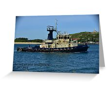 SVITZER TUG - CARRINGTON Greeting Card