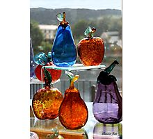 Window Glassware ~ Make Your Own Rainbow! Photographic Print
