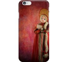 Russian dolly iPhone Case/Skin