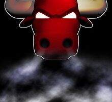 Bulls smoke by dsalinasdesigns