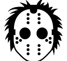 Horror Hockey Mask by artpolitic