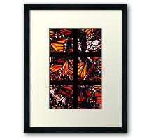 Fragmented Monarchy in Sharpie Framed Print