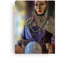 Look into my crystal ball Canvas Print